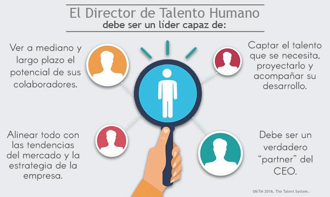 El director de talento humano un lider capaz de:
