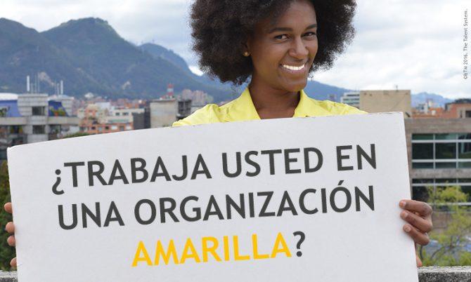 ¿Trabaja usted en una organización amarilla?