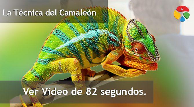 Vídeo: La Técnica del Camaleón