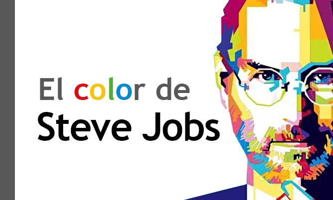 El color de Steve Jobs