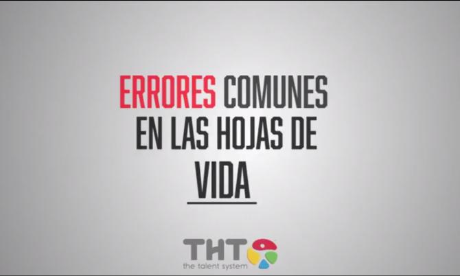 (Español) ERRORES más comunes en las hojas de vida